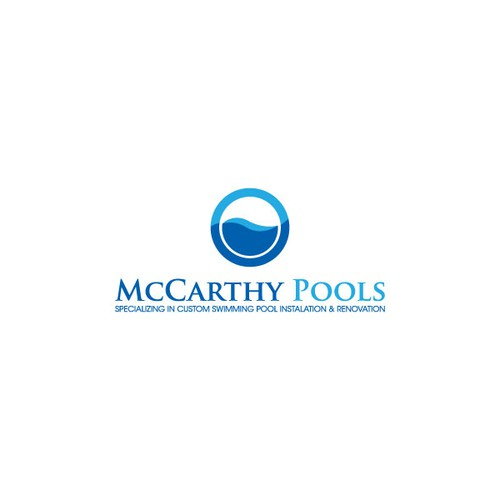 Create a logo for a swimming pool company logo design for Pool design company radom