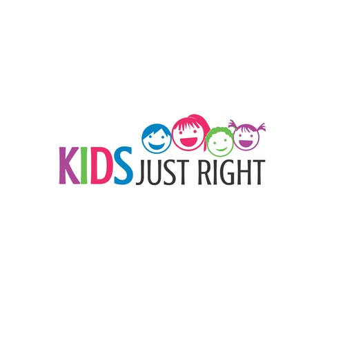 Create a fun kid friendly logo for kids who need therapy for Need a logo created