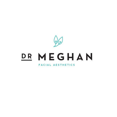 create a luxurious facial aesthetics logo with an ethical
