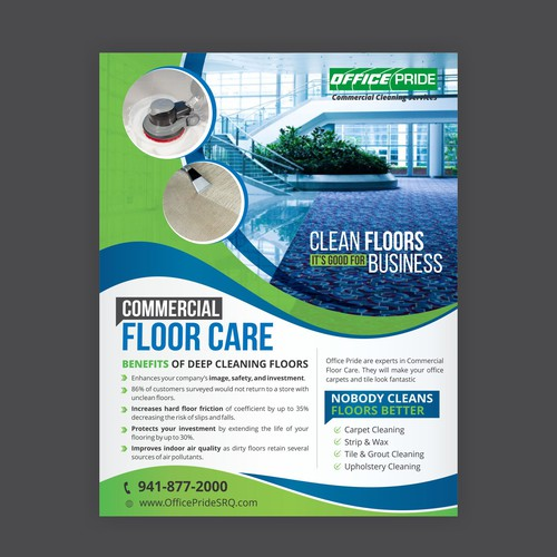 Floorcare Flyer Postcard Flyer Or Print Contest