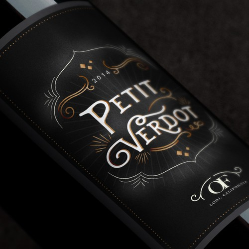 Design a new wine label for our new California red wine... Design by Holly McAlister