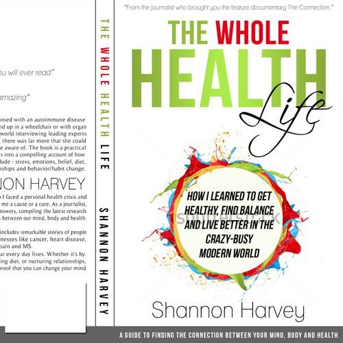 Book Cover Design Nonfiction : Book cover design for health science non fiction