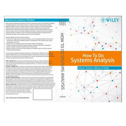 Book Cover Design Analysis : Create a cover for textbook how to do systems analysis