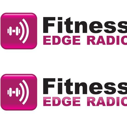 Logo For Fitness Edge Radio Logo Design Contest 99designs
