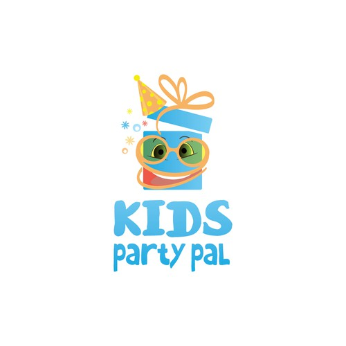 create a logo for kids party pal logo design contest