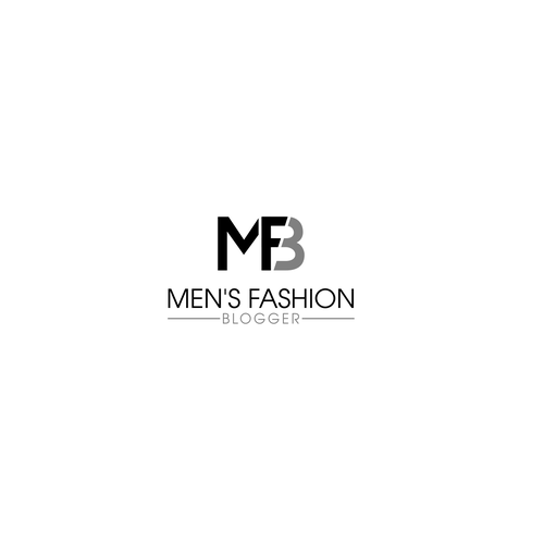 Minimalist Logo Mens Fashion Blog Logo Design Contest 99designs
