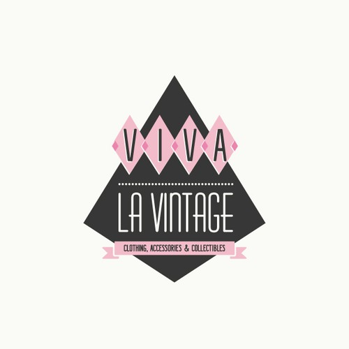 Update logo for Vintage clothing & collectibles retailer for Viva la Vintage Design by <floppy>