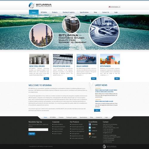 Runner-up design by Webmachine