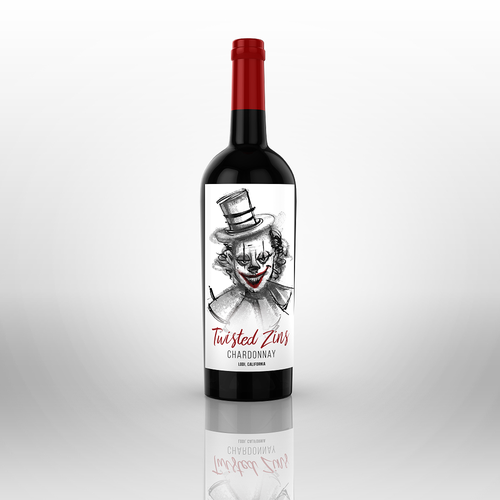 Illustrative Unique And Totally Creative Wine Label Needed For New