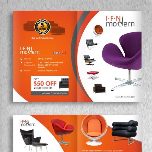 Create A Brochure For A Modern Furniture Company Brochure Contest 99designs