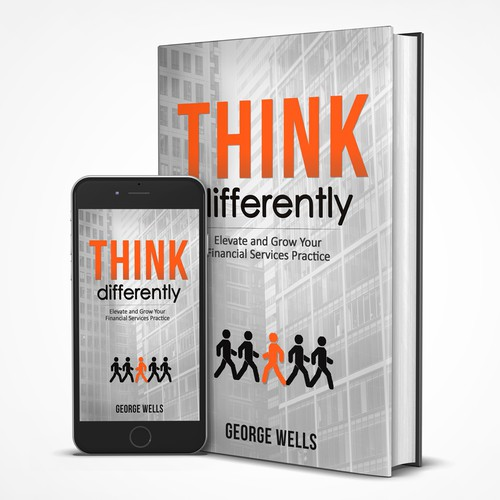 Book Cover Contest ~ Think differently book cover contest