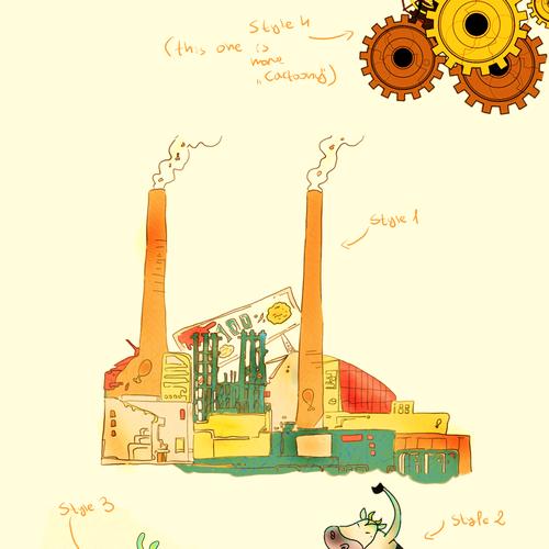 Runner-up design by Mako Yukimura