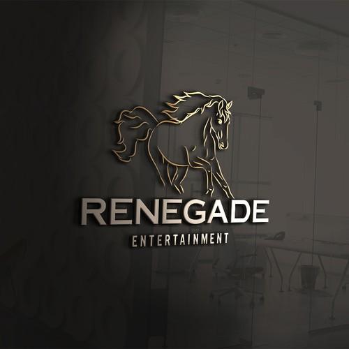 Entertainment Film & TV Studio Branding - Logo - RENEGADES need only apply Design by HappyHolidays