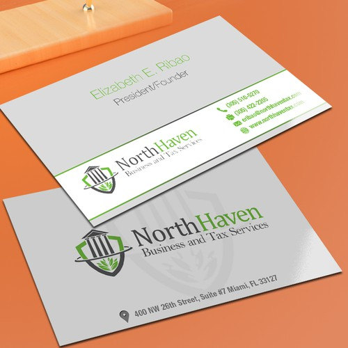 Create business card design for creative tax preparationbookkeeping runner up design by dyloxylo colourmoves