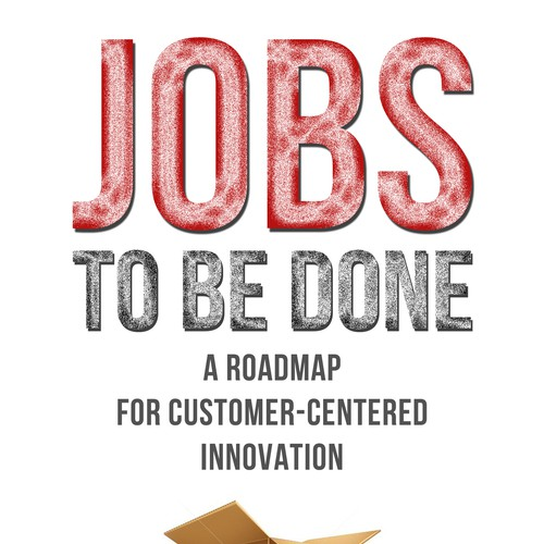 Book Cover Design Jobs Uk : Jobs to be done — a clean business book with hand made