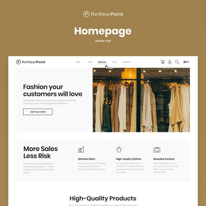 Winning design by ken&co Agency