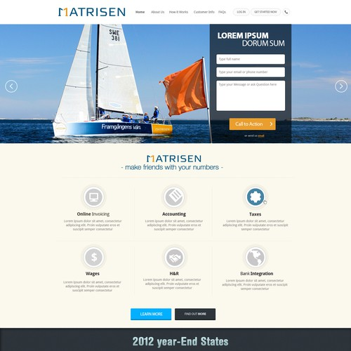 Runner-up design by Web UI Design