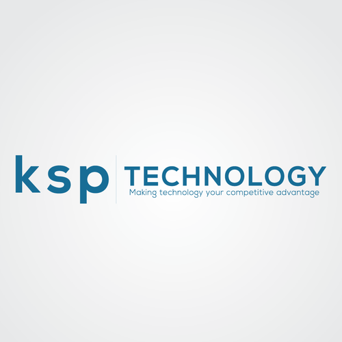 Awesome Branding To Compliment Existing Logo Website For Ksp Technology Logo Brand Identity Pack Contest 99designs