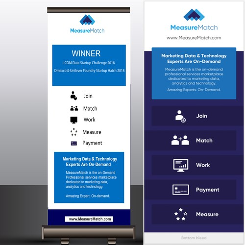 Runner-up design by graphic w
