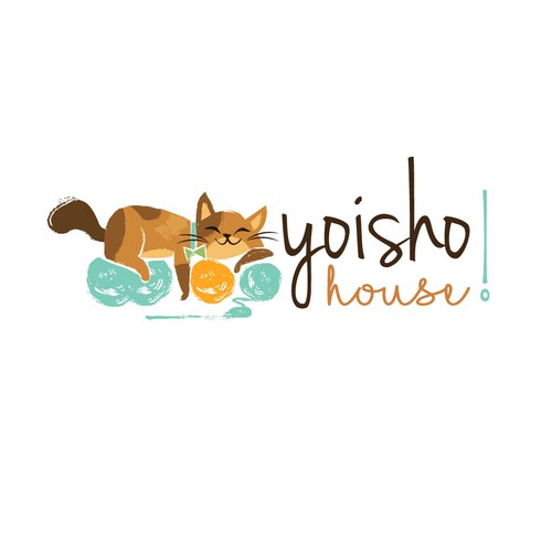 Cute, classy but playful cat logo for online toy & gift shop Design by lindalogo