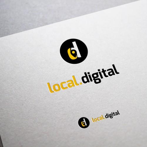 Create a logo for a digital marketing agency serving local ...