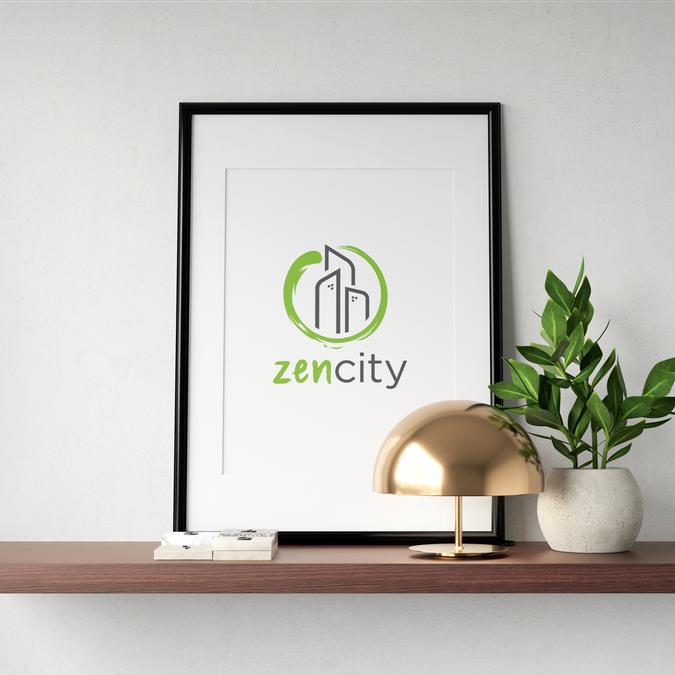 Logo for an outsourcing company named Zen City | Logo ...