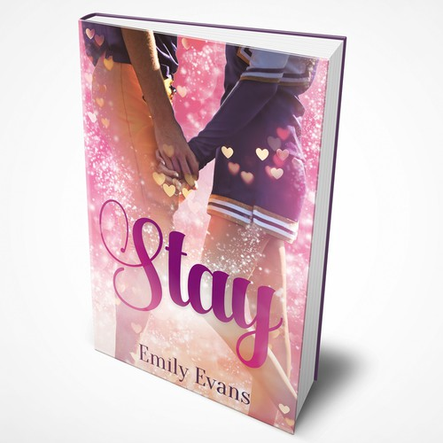 Stay ( A Young Adult Romance Novel) Book Cover Art Design by Canny