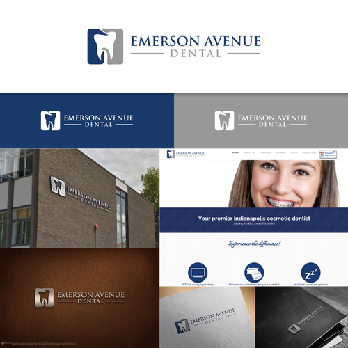 Young, up and coming dentist wants to take Indianapolis by storm! Design por art*jim