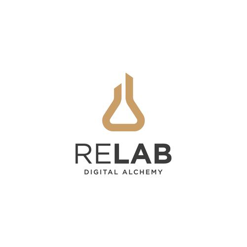 ReLab Logo Redesign   Logo design contest