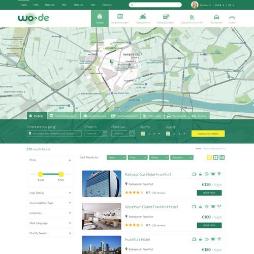 Runner-up design by Dexigner