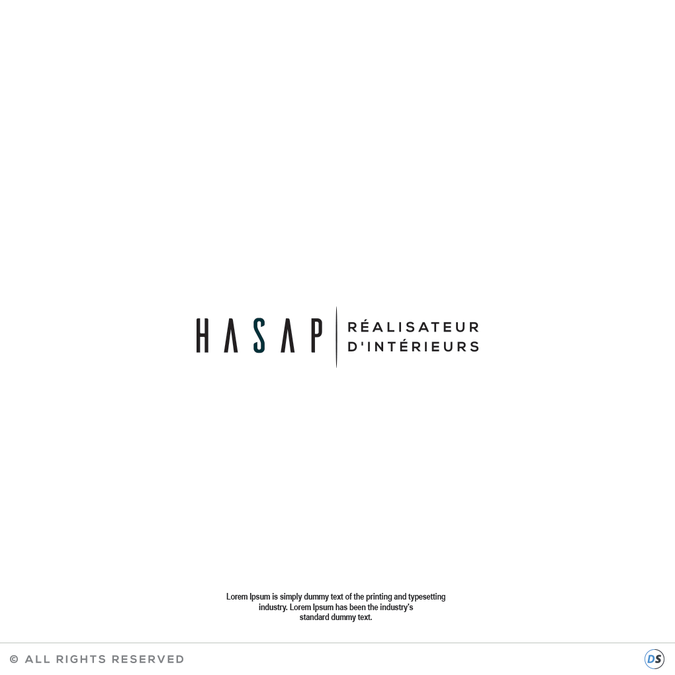 new logo for hasap concours cr ation de logo. Black Bedroom Furniture Sets. Home Design Ideas