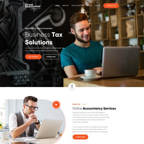 Diseño finalista de Webenix Solutions