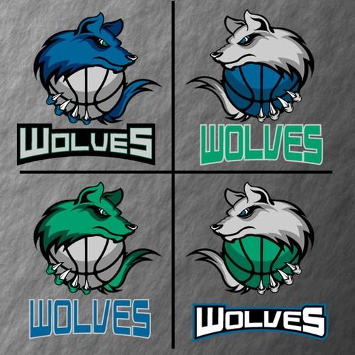 Community Contest: Design a new logo for the Minnesota Timberwolves! Design von angel_buns