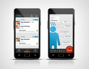 Mobile app design by JAY KELLY