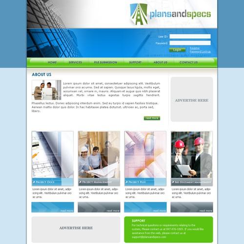 Diseño finalista de JMDwebdesign