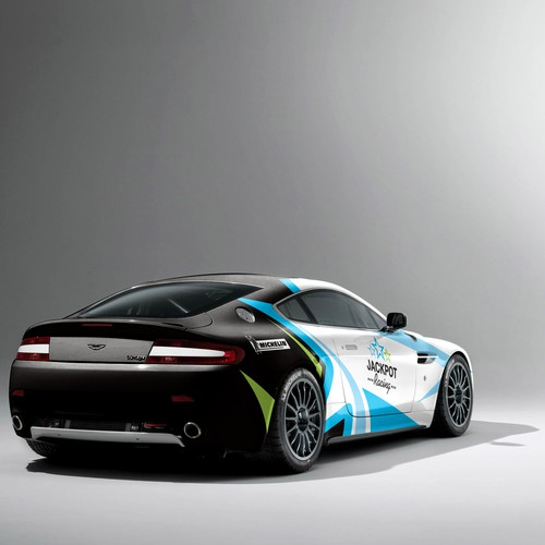 Aston Martin Race Car: Car, Truck Or Van Wrap Contest