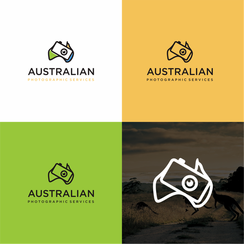 Logo for an australian photographic and video services for Australian design firms