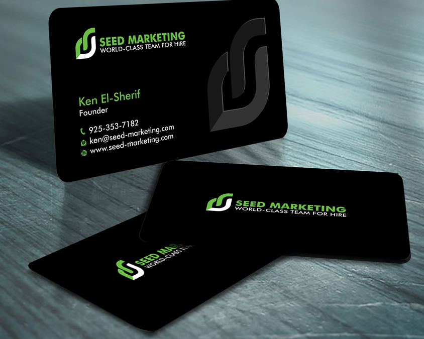 Seed Marketing Business Card | Business card contest