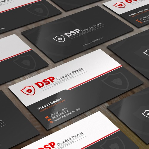 Security company business cards business card contest runner up design by bagazz reheart Gallery