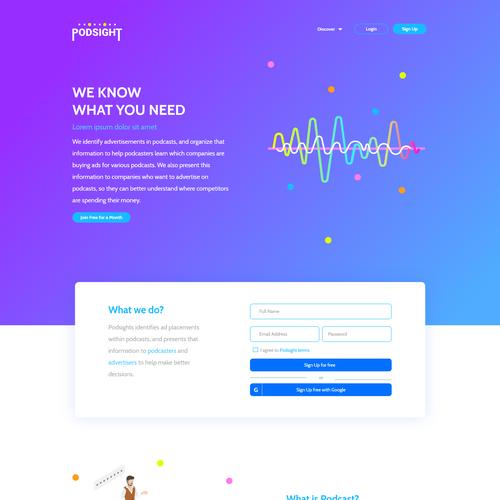 Runner-up design by DesignHubb
