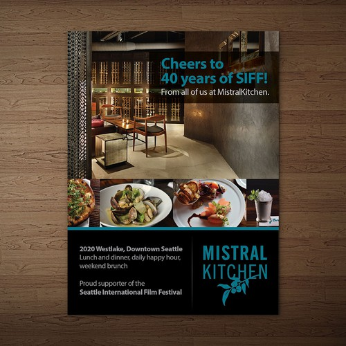 Create a magazine ad for fantastic restaurant other