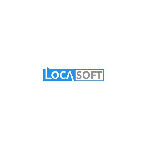 logo pour logiciel de gestion locasoft logo design contest. Black Bedroom Furniture Sets. Home Design Ideas