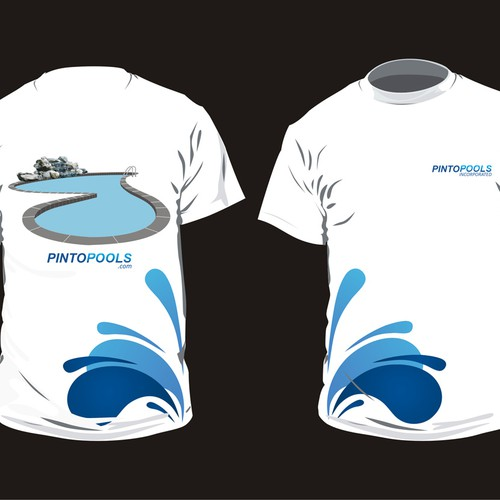 New Tshirt Design For Swimming Pool Company T Shirt Contest