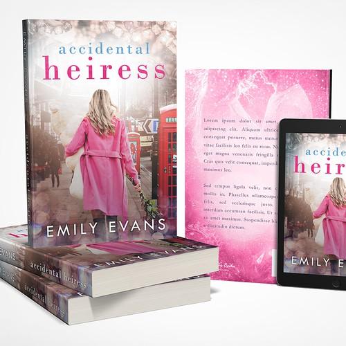 Romance Book Cover Ups : Cover art for teen romance novel accidental heiress