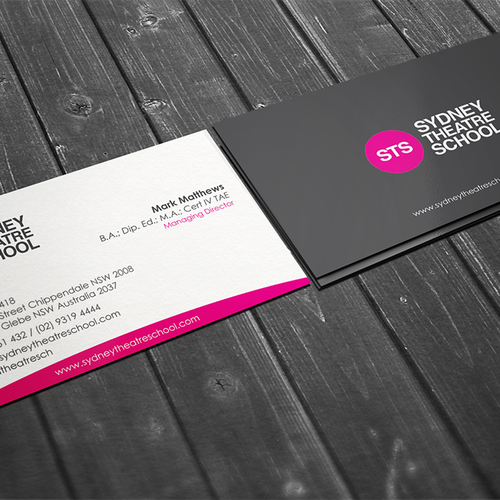 Business card for sts managing director business card contest runner up design by conceptu colourmoves Choice Image