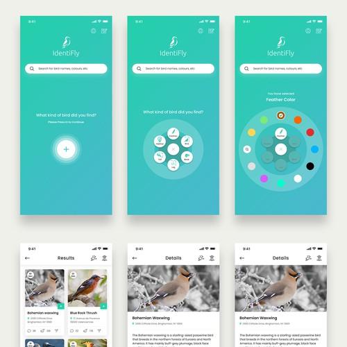 Design finalista por FuturisticBug