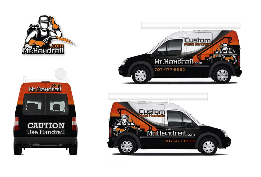 mr handrail 39 s ford transit connect needs some truck. Black Bedroom Furniture Sets. Home Design Ideas