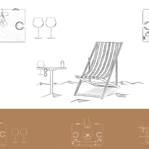 Runner-up design by Sam art & design