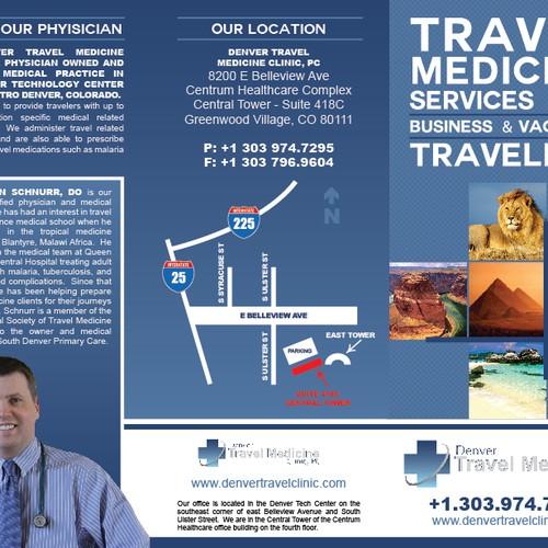 Travellers Health Clinic: Brochure Design For Denver Travel Medicine Clinic