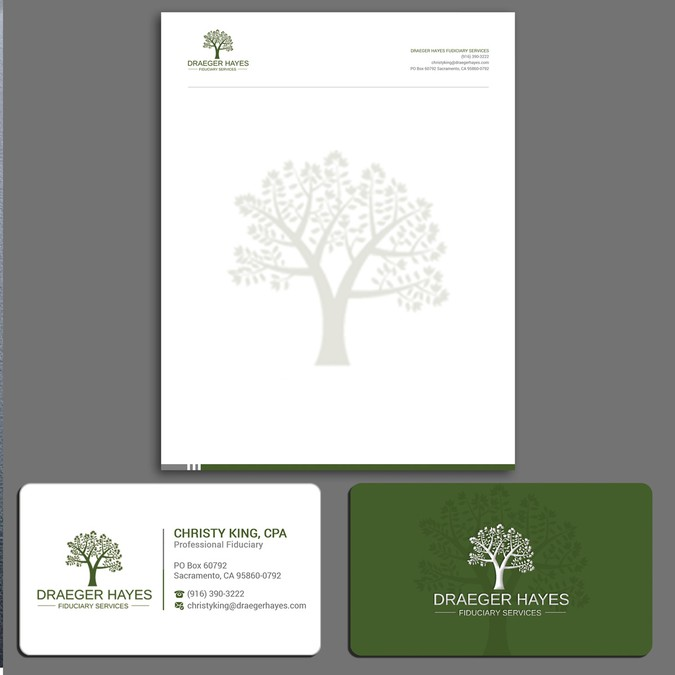 Professional Services Business Card Design | Business card